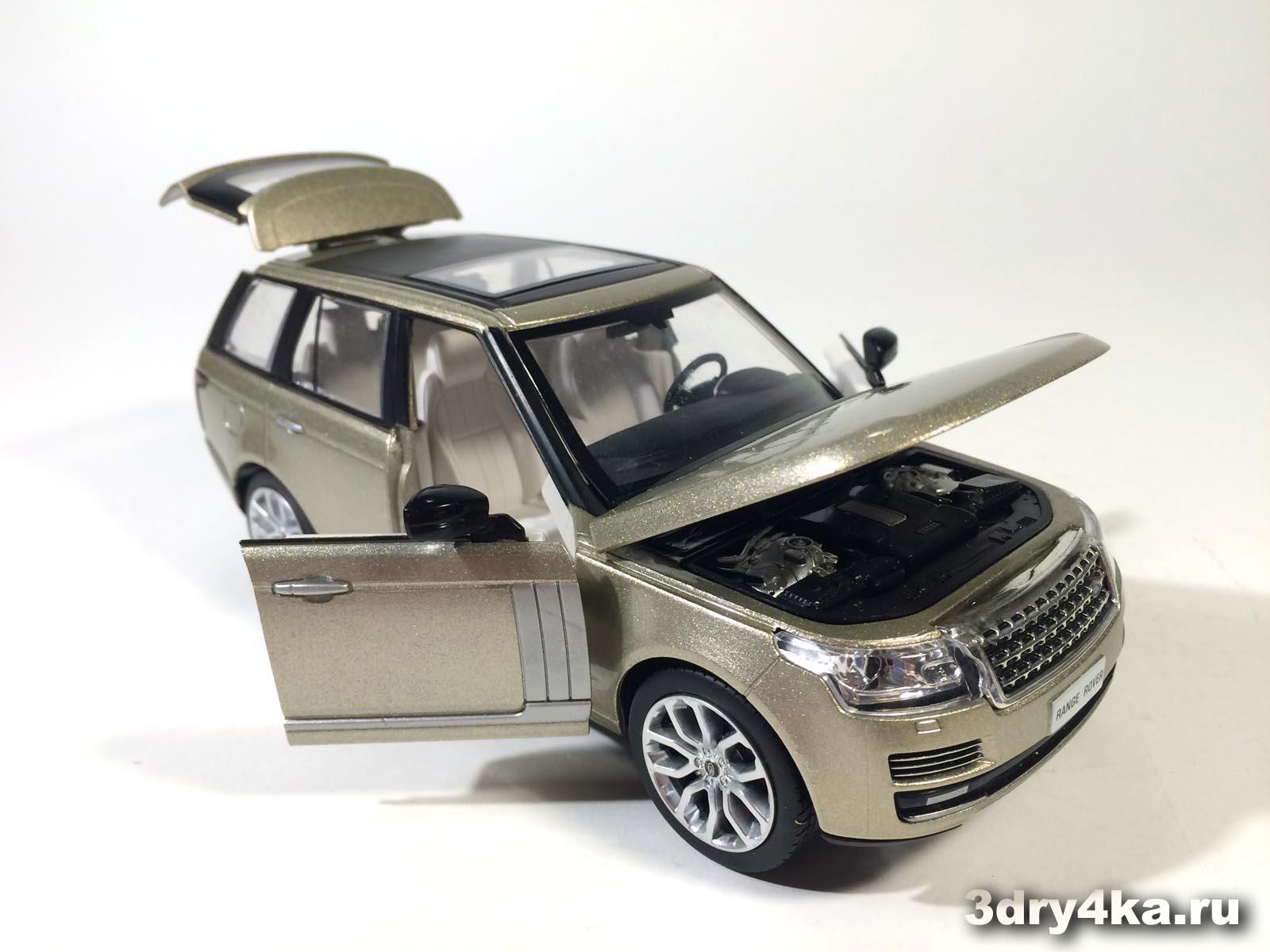 Масштабная модель Land Rover Range Rover Voque от IDEAL  (масштаб 1:24)